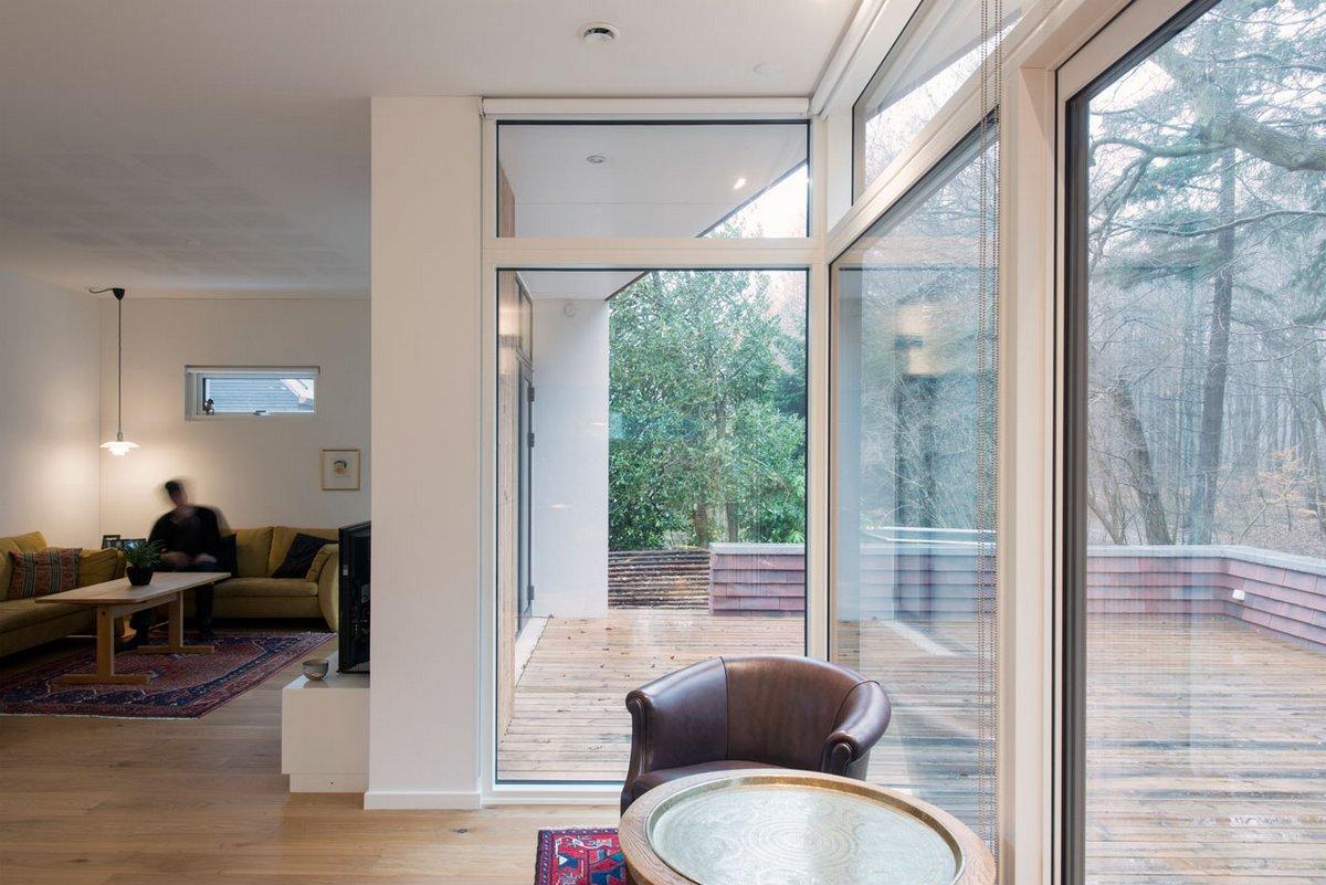 Одноэтажный коттедж в Дании