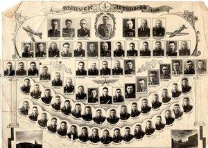 1950 г. Выпуск лётчиков штурмовиков.