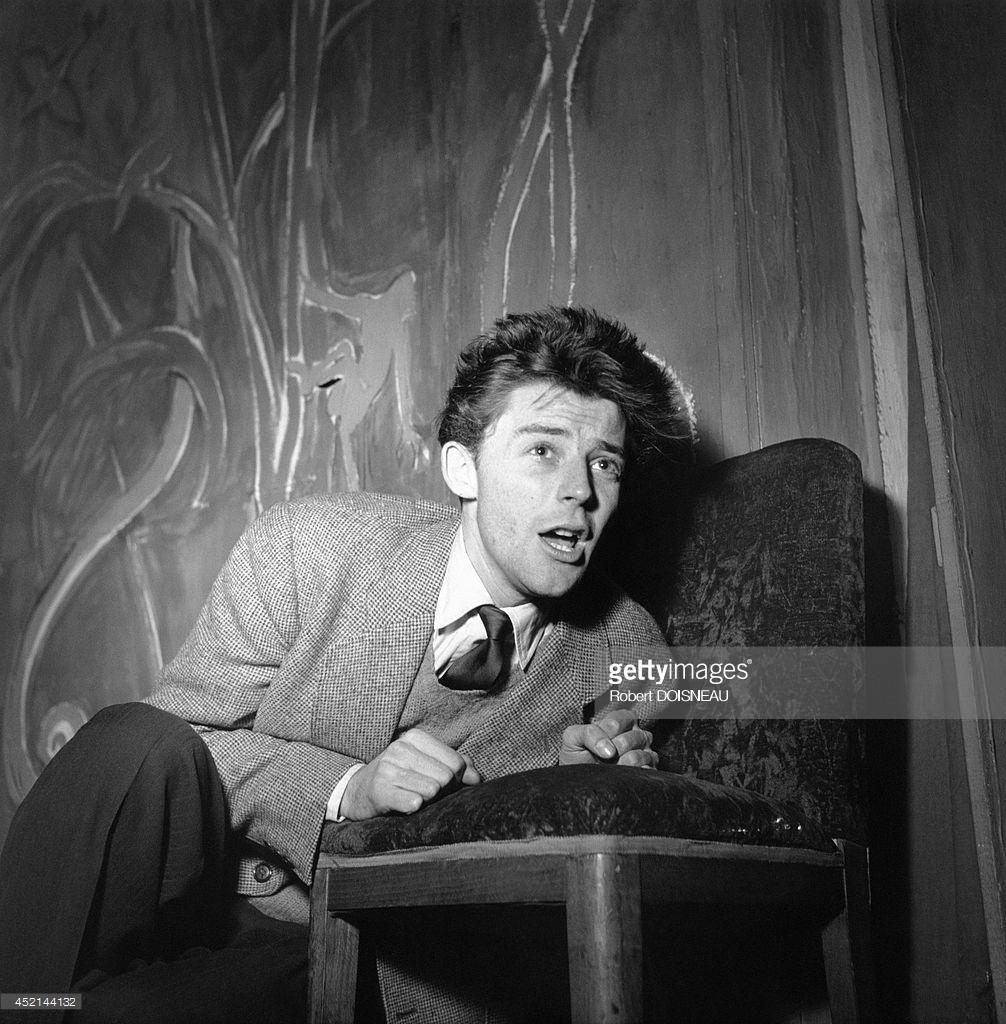1955. Портрет актера Жерара Филиппа