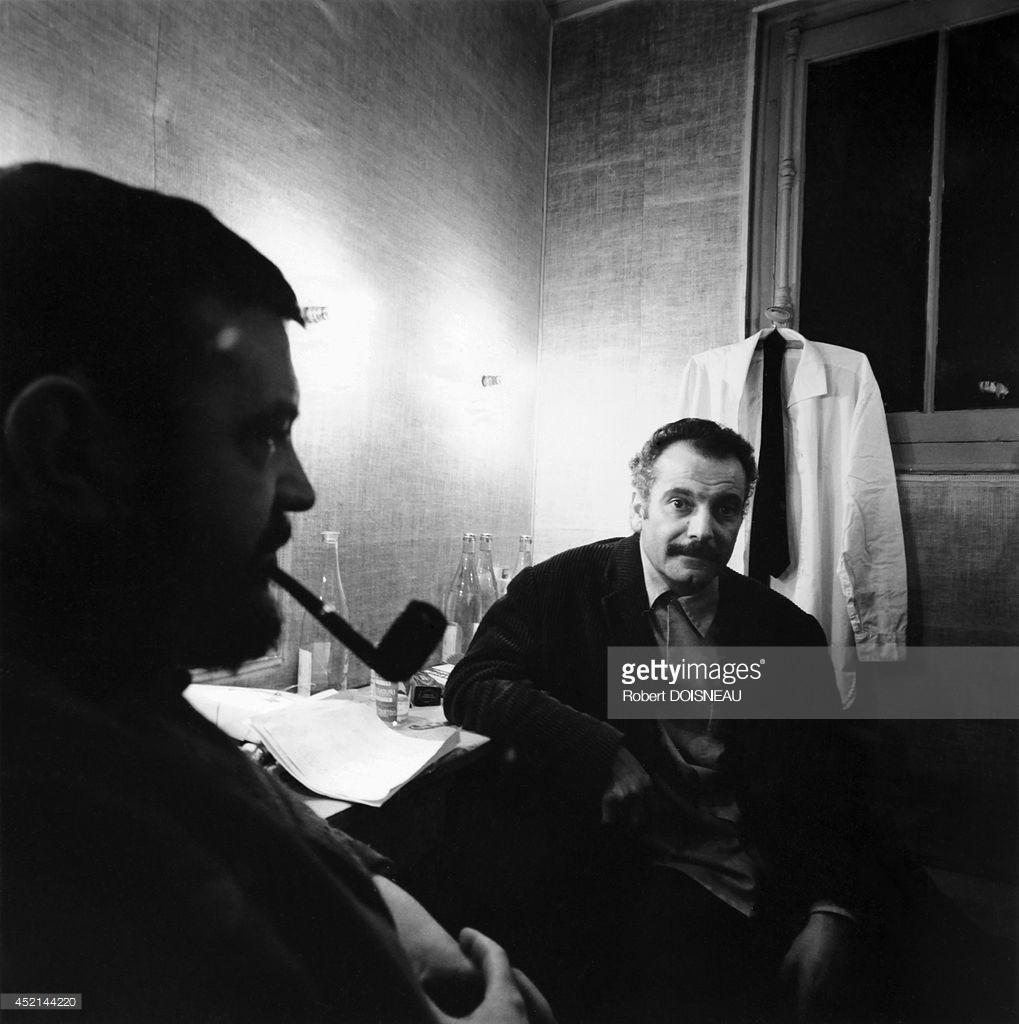 1963. Портрет Жоржа Брассенса, Париж