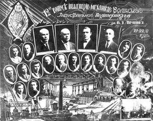1929 г. Волинский Индустриальный Политехникум им. В.И.Ленина