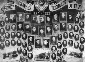1932 г. Харьковское Пожарно-Техническое училище НКВД СССР.