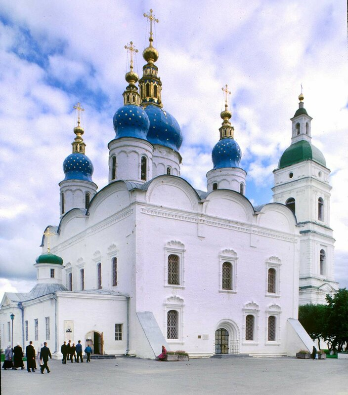CATHEDRAL OF ST. SOPHIA & DORMITION, NORTHWEST VIEW
