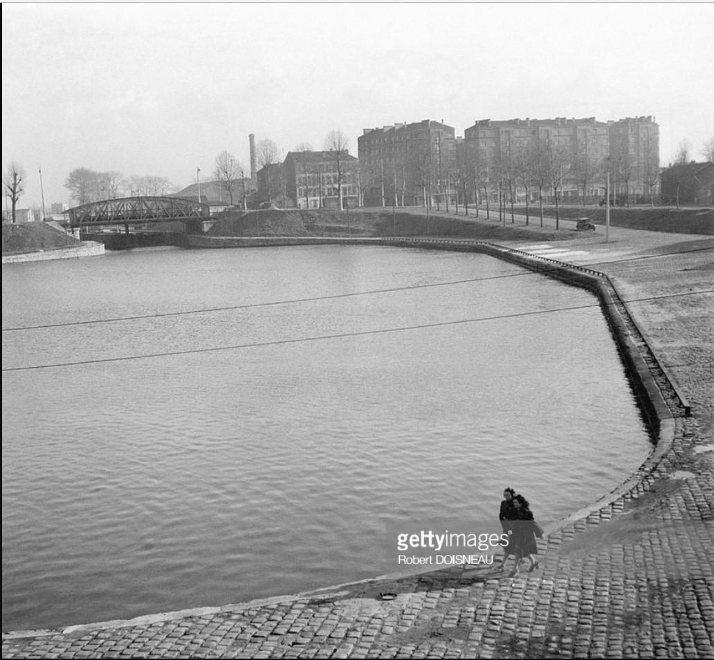 1945. Канал в Сен-Дени, октябрь