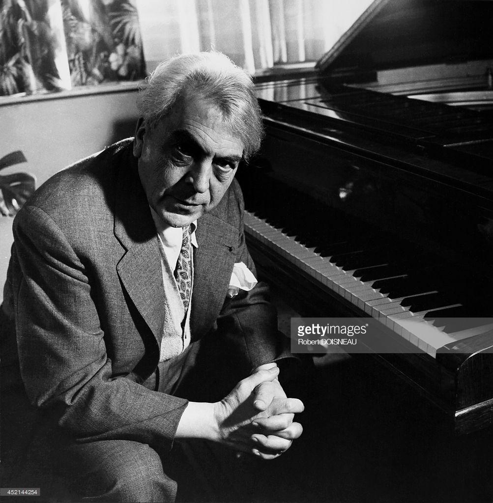 1954. Пианист Ив Нат, Париж