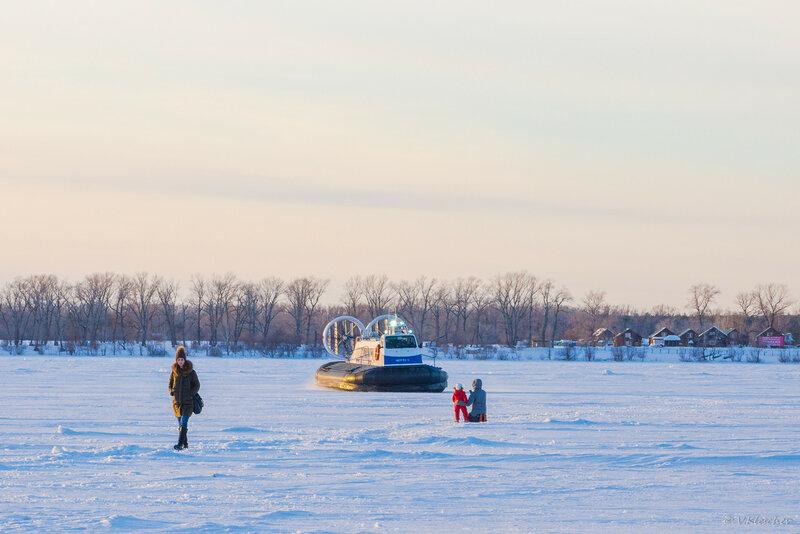СВП проекта Нептун-23 на маршруте Самара - Рождествено