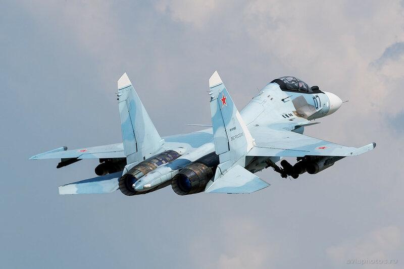 Сухой Су-30СМ (RF-91902 / 07 черный) ВКС России 0250_D805581