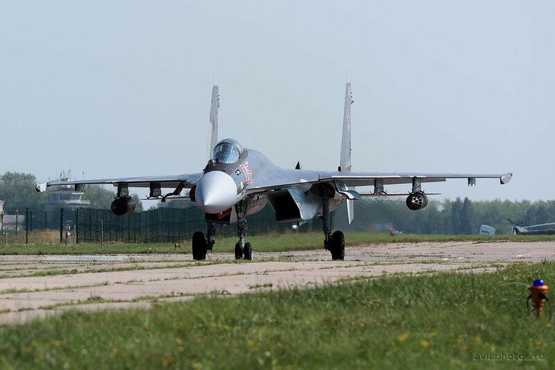 Сухой Су-35С (RF-95245 / 05 крансый) ВКС России 0080_D805485