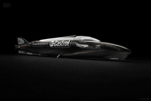 Гай Мартин побил мировой рекорд на мотоцикле Triumph