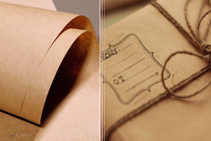 Бумага упаковочная, крафт