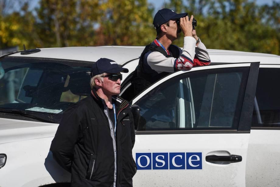 Миссия ОБСЕ зафиксировала 487 взрывов на Донбассе 22 ноября