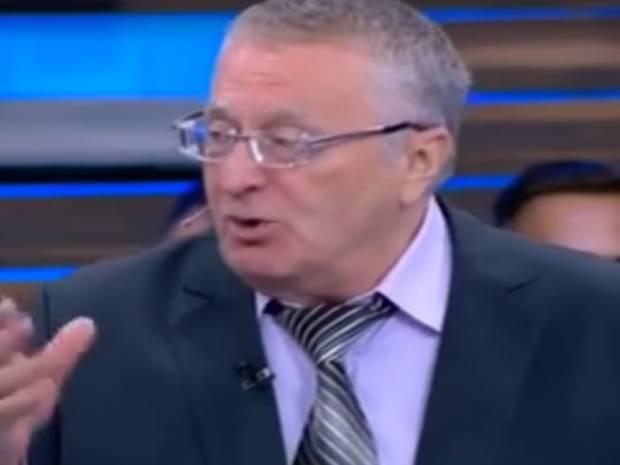 Транш МВФ Украине: В Жириновского истерика (видео)
