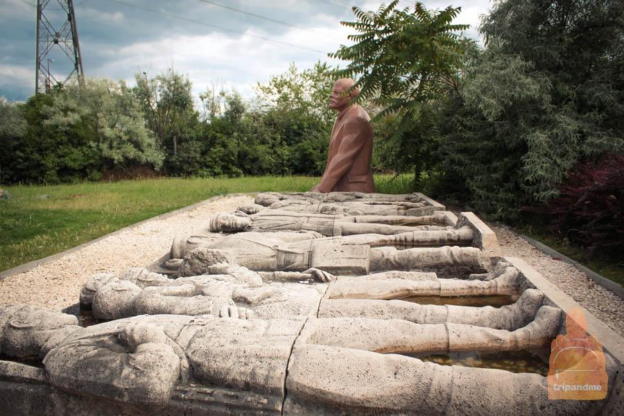 В парке собраны социалистические памятники со всей Венгрии
