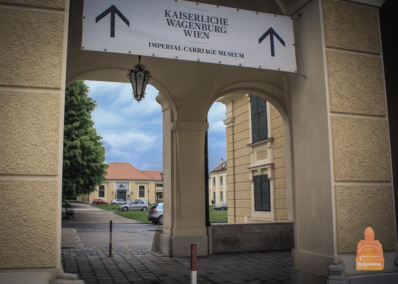 Музей карте в Шенбрунне