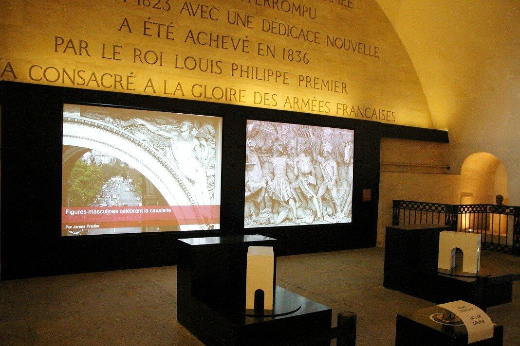 Париж. Музей Трумфальной арки