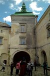 внутренний дворик замка