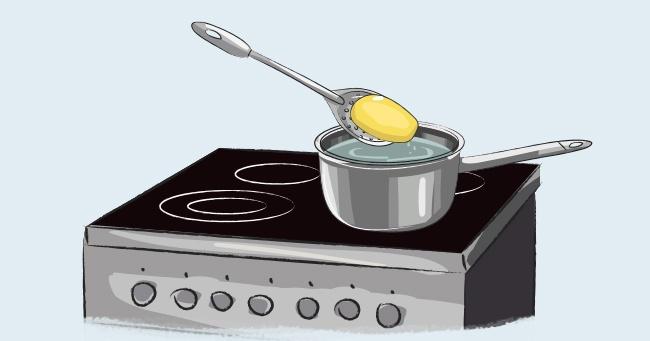 © Astkhik Rakimova  Если пересолили блюдо, кладем внего примерно на10минут кусочек баклажан
