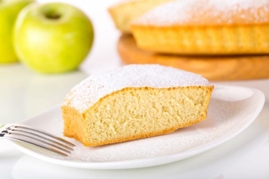 Йогуртовый пирог Ингредиенты: 1 баночка натурального йогурта 2 баночки белого сахара (пустая баночка