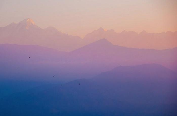 6. Закат в горах