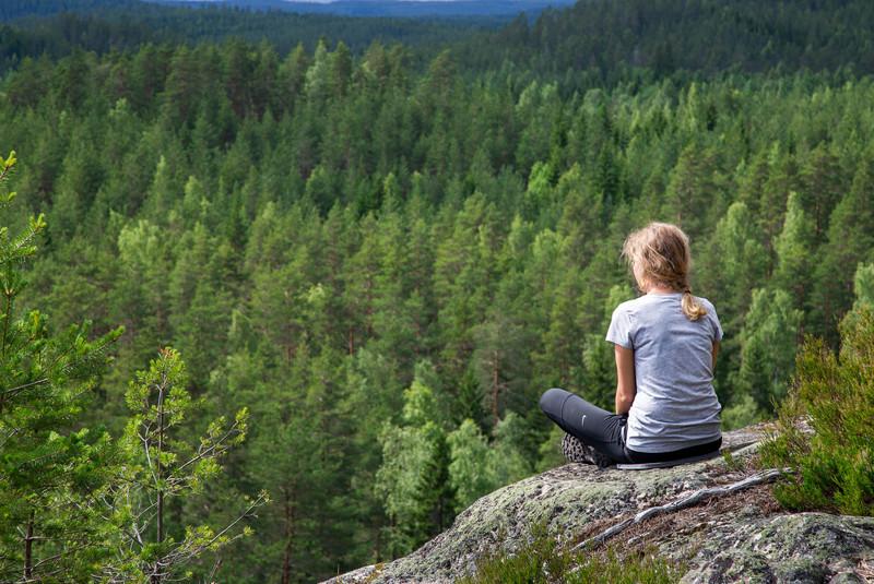 Национальный парк Реповеси, расположен всего 40 км от города Коувола, который в свою очередь в 100 к