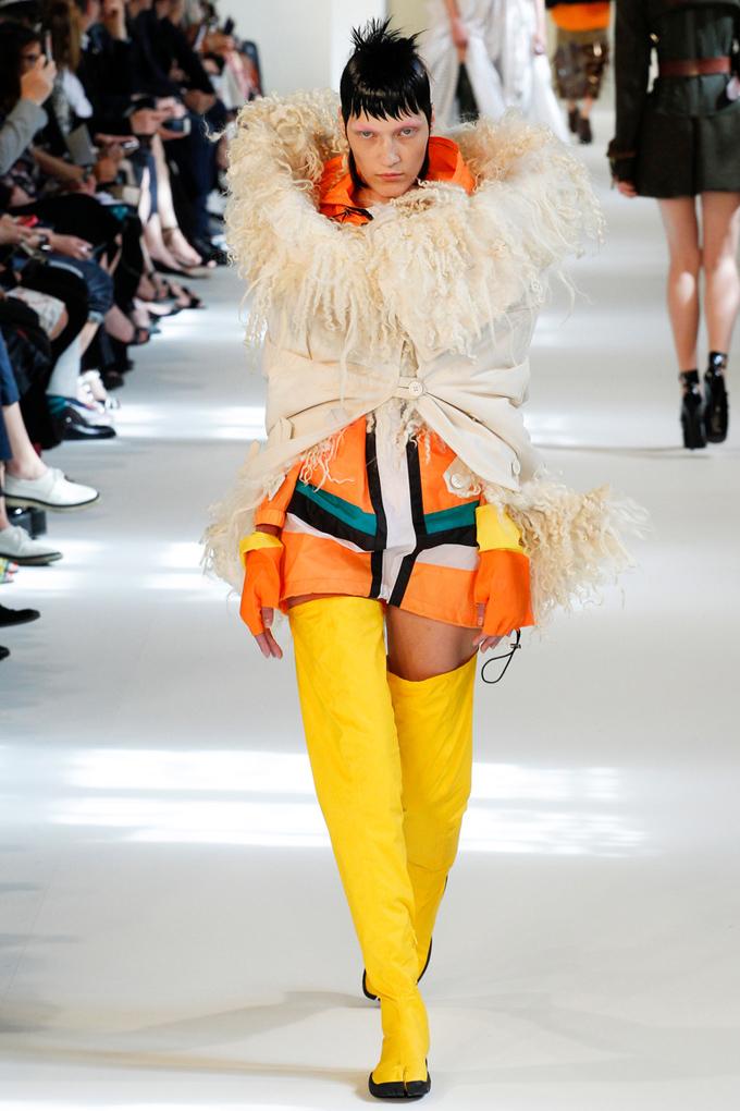 Неделя высокой моды в Париже: Maison Margiela осень-зима 2016/17