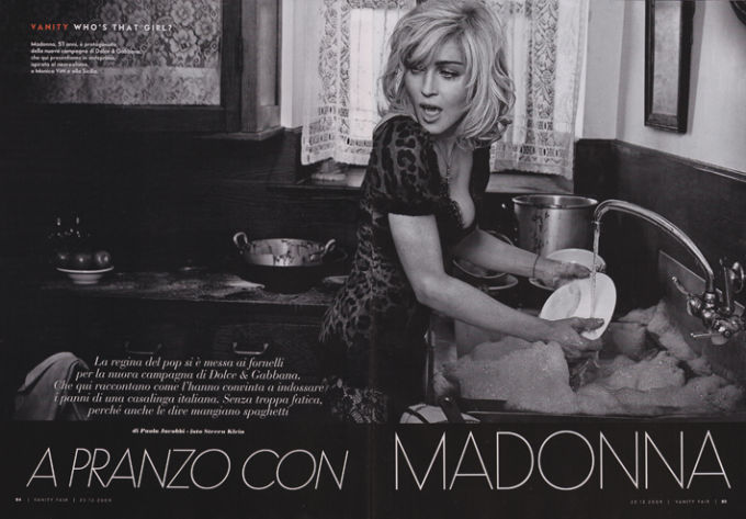 Фотограф — Стивен Кляйн для Dolce & Gabbana, 2009 год.