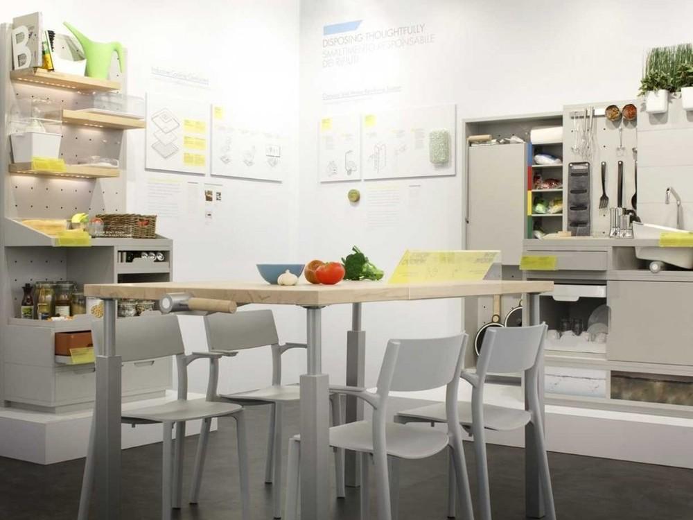 1. Добро пожаловать в 2025 год. Так будет выглядеть современная кухня.