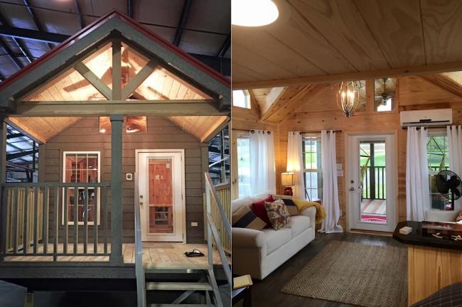 © Rustic River Park Homes  © Rustic River Park Homes  Самая маленькая модель— 15метров