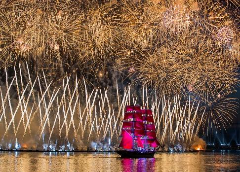 «Алые паруса-2016»: Ургант, «Звери», мосты ифейерверк