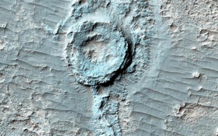 Нарасположенном наМарсе плато Тавмасия может быть жизнь