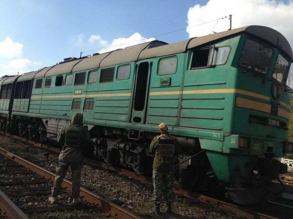 Боевикам пытались доставить горючее — СБУ задержала тепловоз