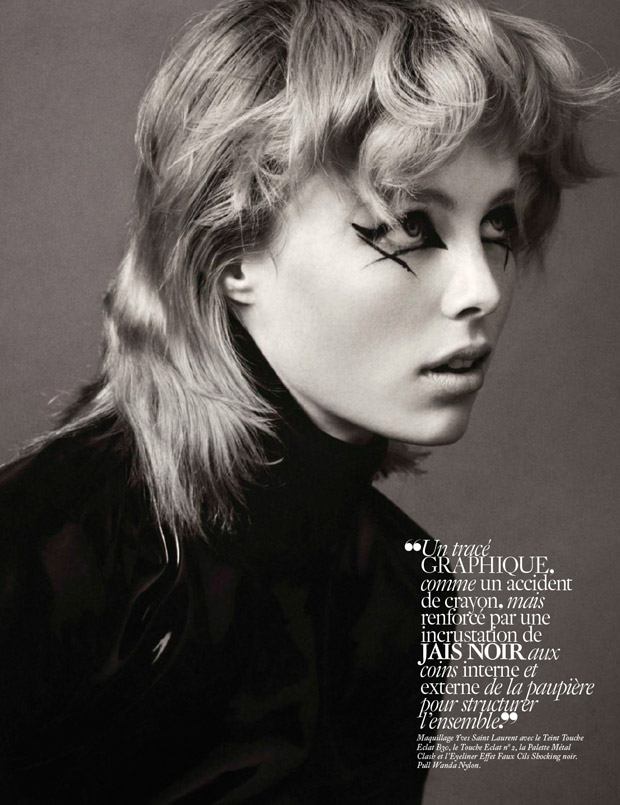 Edie Campbell for Vogue Paris by Christian Macdonald