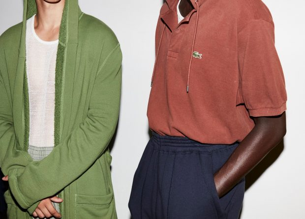 NYFW Backstage at LACOSTE Spring Summer 2017