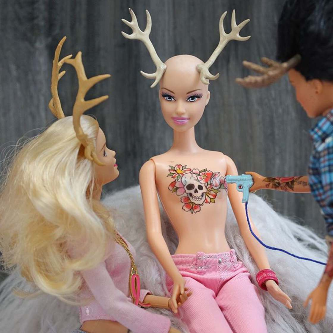 Trophy Wife Barbie - The twisted life of a Barbie on Instagram