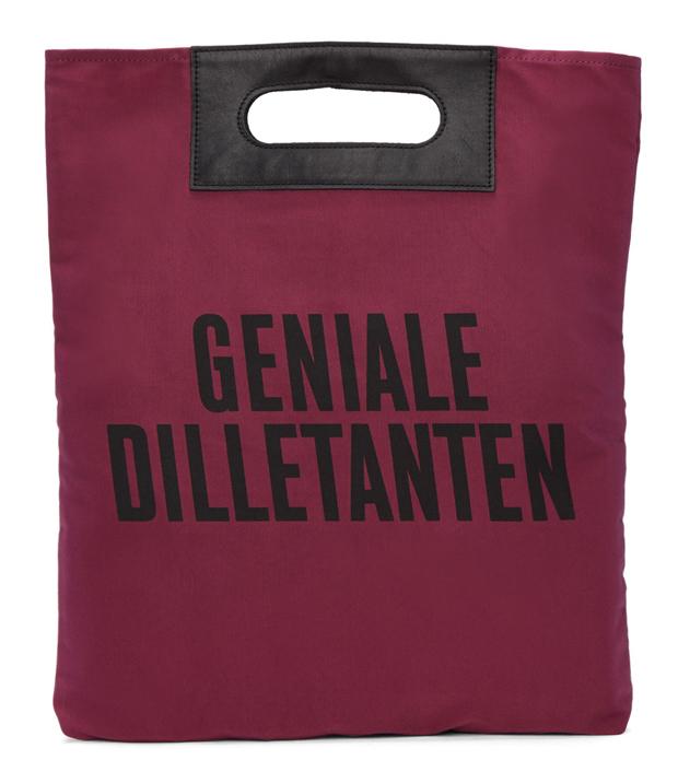 Robert Geller Pink 'Geniale Dilletanten' Record Tote