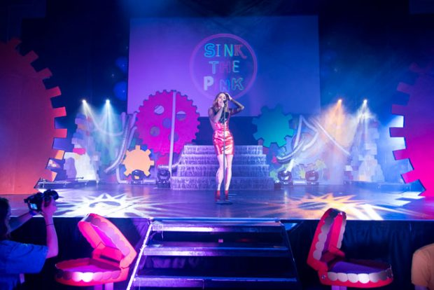 Melanie C Performing at Sink The Pink, photo Jacob Love Now with a cult following, STP started from
