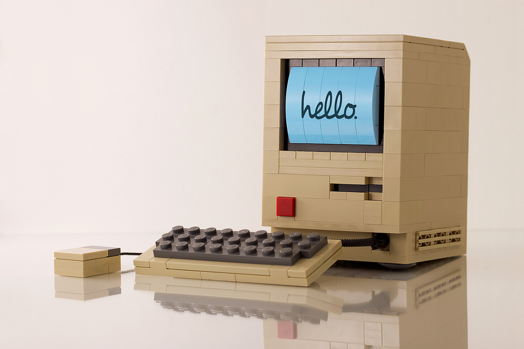 Jack-of-all-trades artist and designer Chris McVeigh creates these awesome minimalist Lego models of