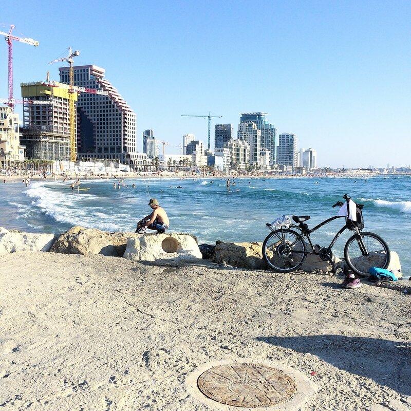Пляжи Тель-Авива