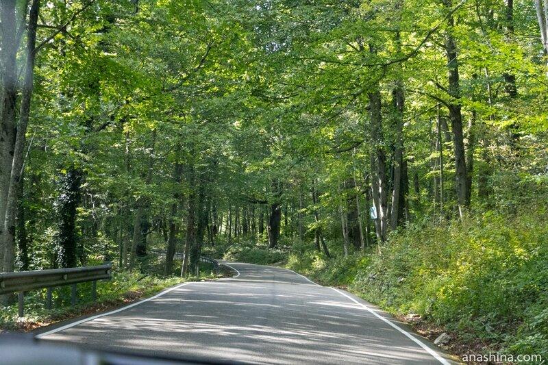 Дорога на Ахун, Сочи