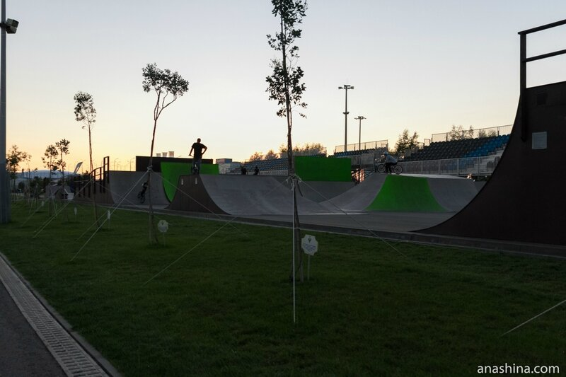Скейт-парк, Олимпийский парк, Сочи