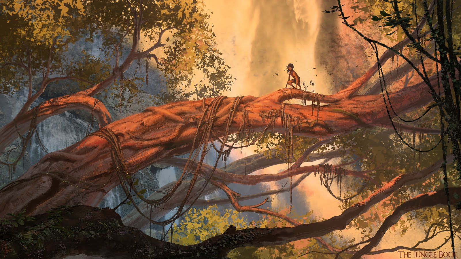 The Jungle Book Concept Art by Jonathan Bach (12 pics)