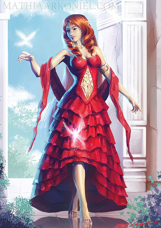 Hot Digital Illustrations by Mathia Arkoniel