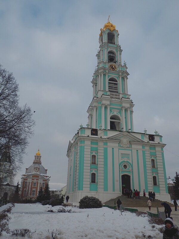 Троице-Сергиева Лавра - колокольня (The Trinity Lavra of St. Sergius - Bell tower)