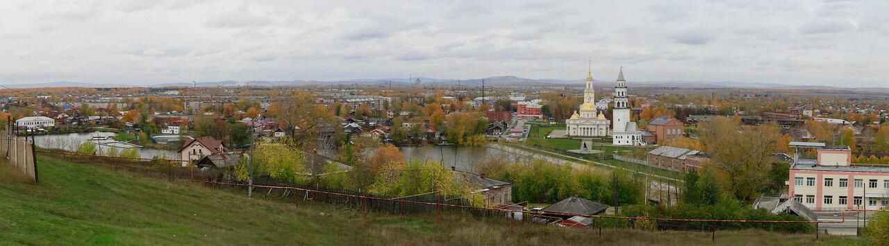 Панорама Невьянска