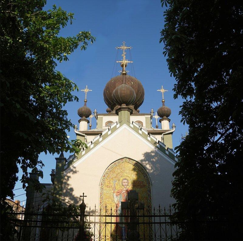 Церковь всех Крымских святых и Феодора Стратилата-Алушта