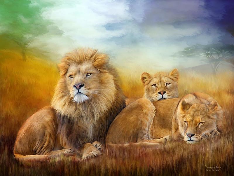 в год тигра и под знаком льва
