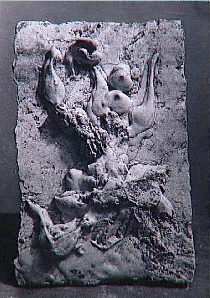 1943. Женский силуэт (гипс, 1942), Пикассо, Париж