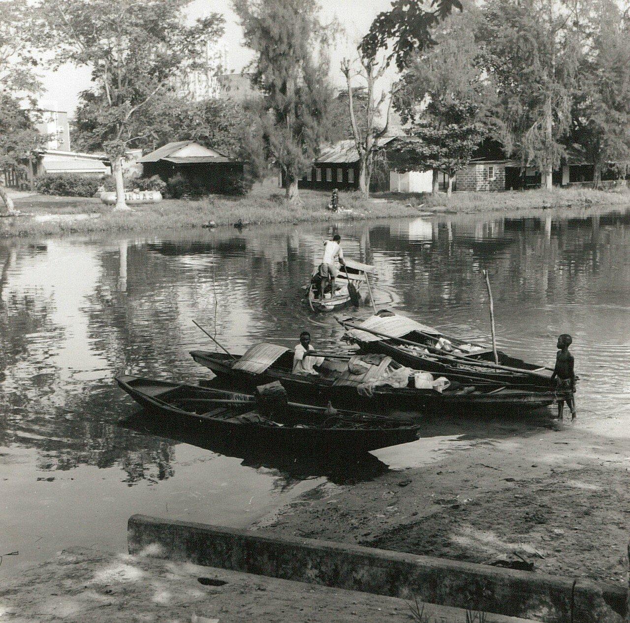 Лагуна Лагоса.  Рыбацкие деревушки