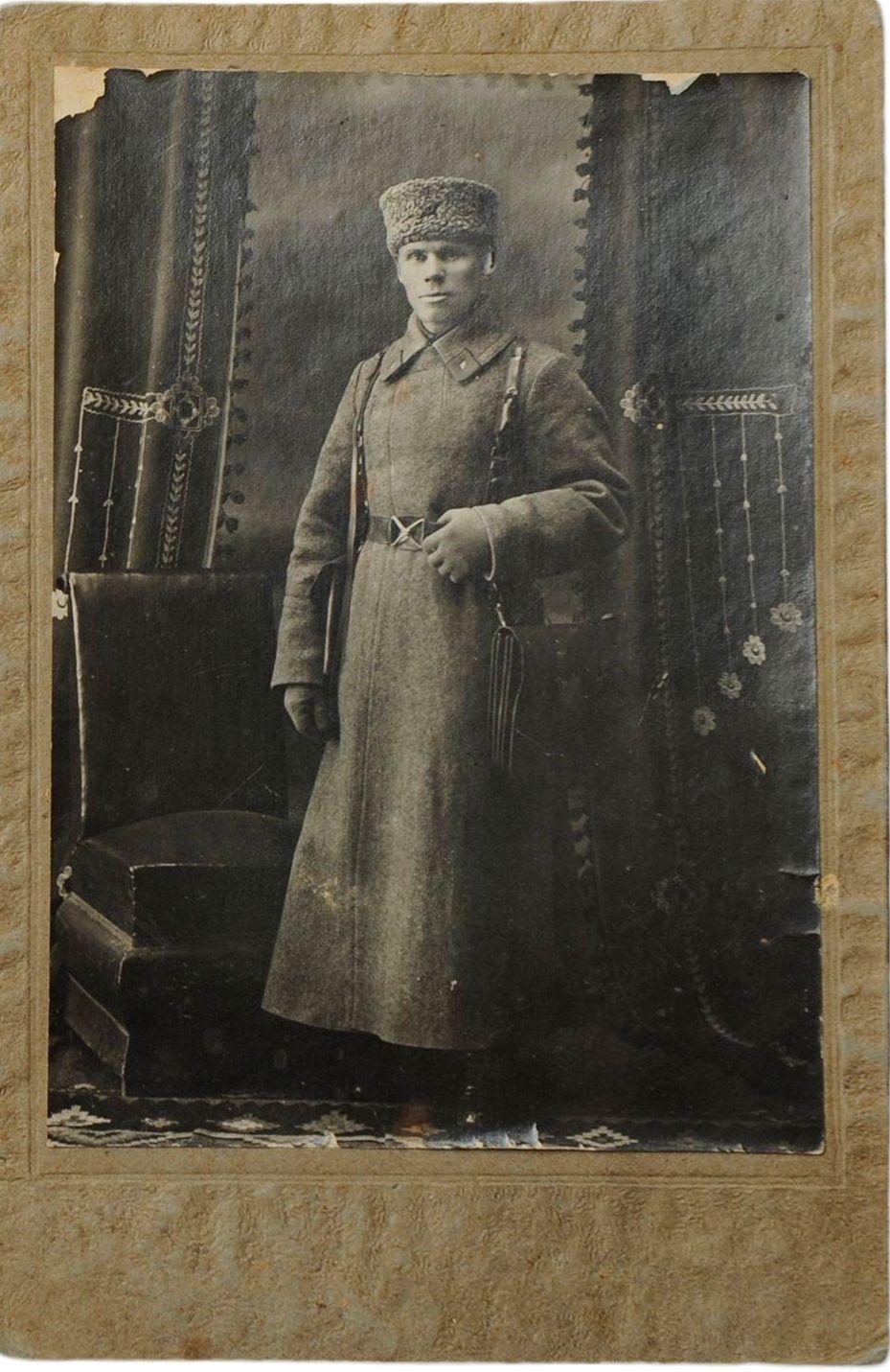 1930-е  Фото начальника горотдела милиции адмотдела исполкома