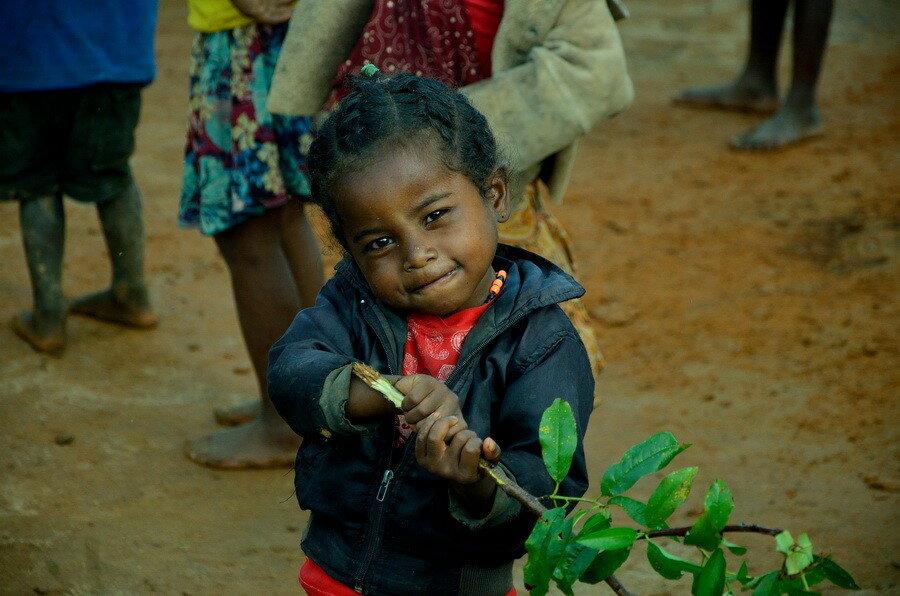 Мадагаскарская девочка